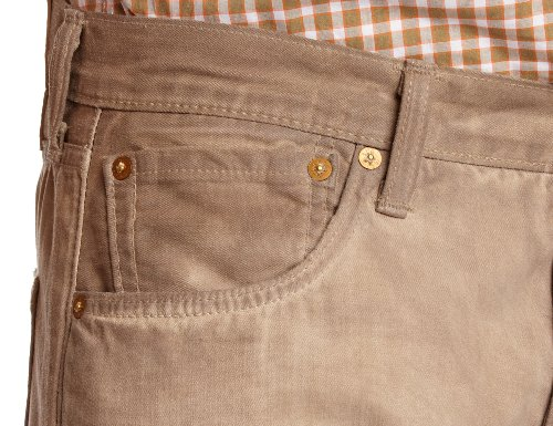 1605 jonny Desert Levi's Jeans Original Uomo Fit 501 Beige Zwpvq4nv8x