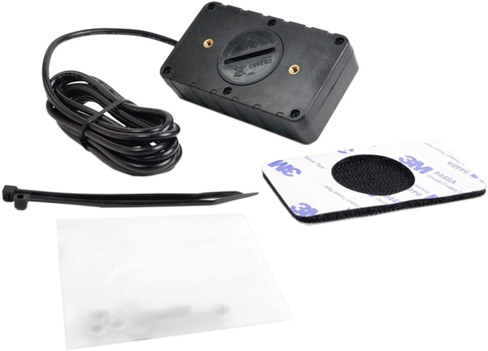 Kleiner Motortachometer Track /Ölwechsel Induktiver Stundenz/ähler Kann ausgeschaltet werden Beleuchteter Digitaler Tachostundenz/ähler Einzelne r/ückstellbare Stundenz/ähler f/ür Motorrad ATV Boot