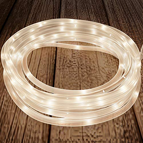 Solar Powered 50 Led Rope Lighting