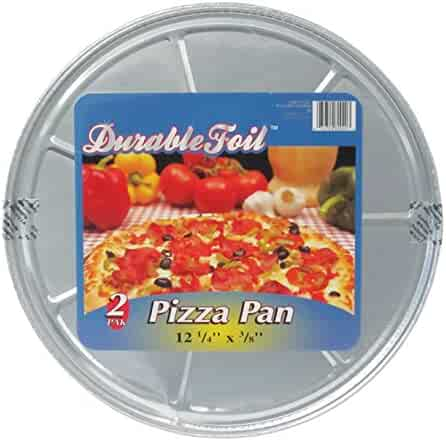 Durable Foil Round Pizza Pan, 12-1/4