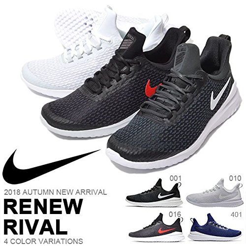Running Rival Grey Renew University Black Men's Red Shoes NIKE 6nUatEO