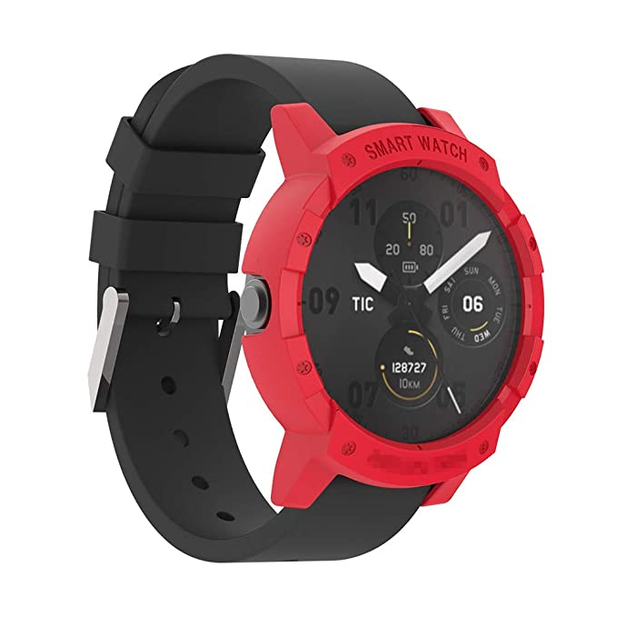 Sikai PC Case Cover Protect Shell para Ticwatch E Reloj Anti Rasguños Moda Slim Colorido Marco Caso Cubierta Proteger para Ticwatch E Smartwatch ...
