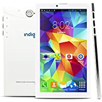 Indigi 2-in-1 Phablet 7 Android 4.4 Tablet 3G Smart Phone - GSM Unlocked AT&T T-Mobile
