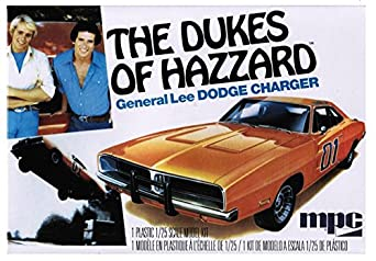 Amazon.com: MPC 1969 General Lee Dodge Charger Model Kit: Toys & Games