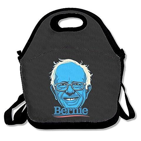 Bernie Sanders Lunch Box Bag For Kids Adult Men Women Girl Boy,lunch Tote Lunch Holder With Adjustable Strap ,double (Built Sander)