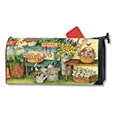 Magnet Works Planting Time Original Magnetic Mailbox Wrap Cover