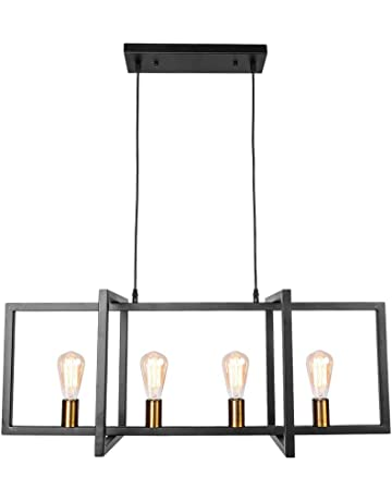 Brilliant Modern American Style Industrial Pot Cover Chandelier Golden Glass Bedroom Dining Room Lamp Pendant Lights