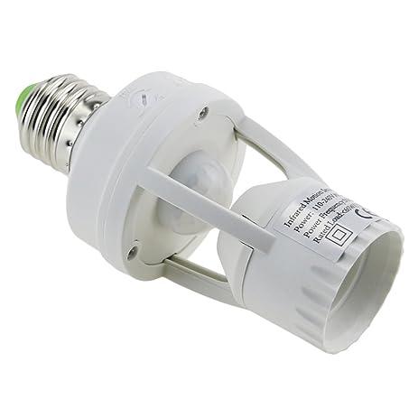 Amazon.com : E-Age Ajustable 360 Degree Infrared Motion PIR Sensor ...