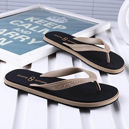 estate antiscivolo e tendenza usura inferiore da piede 42 spiaggia studenti fankou e libero tempo personalità marrone campo fresco il degli Pantofole maschio agganciare 5YxCwqS
