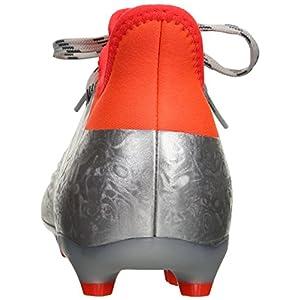 adidas Performance Men's X 16.2 FG Soccer Shoe, Silver Metallic/Black/Infrared, 8.5 M US
