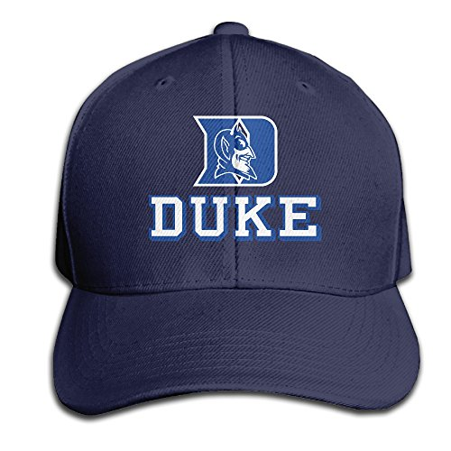 IYaYa New Fashion Duke University Adjustable Peaked Cap Hats Navy