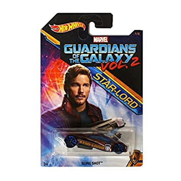 Hot Wheels 2017 Guardians of The Galaxy 1:64 Vol. 2 (Slingshot Star-Lord)