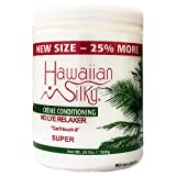 Hawaiian Silky Sensitive Scalp Conditioning Relaxer Super 20oz No lye For Natural Hair - 100% Real Jojoba & Mink Oils - Good on Color Treated Hair - All Hair Types Men, Women & Teens