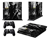 PS4 Designer Skin for Sony Playstation 4 Console System Plus Two(2) Decals For: PS4 Dualshock Controller - The Last of Us Remastered