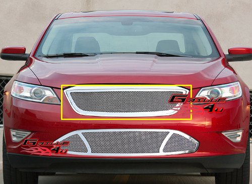 - APS Compatible with 2009-2011 Ford Taurus SHO Stainless Steel Mesh Grille Grill Insert S18-T67767F