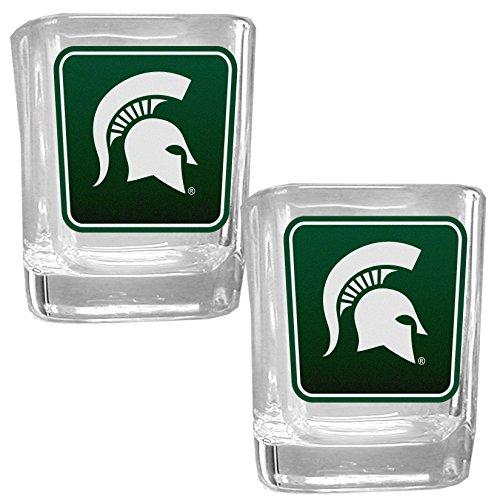 Spartans Square Glass Shot Glass Set ()