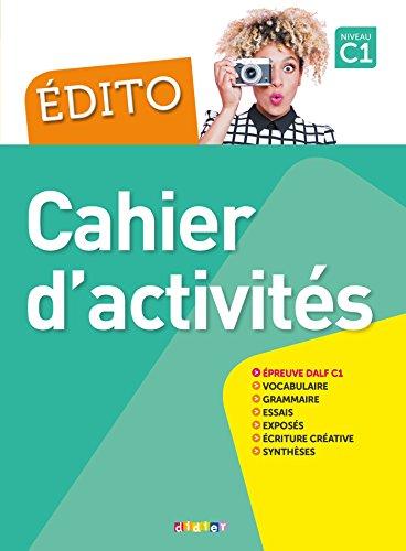 Edito 2016: Cahier d'exercices + CD