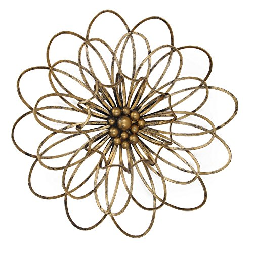 metal wall art flowers. Black Bedroom Furniture Sets. Home Design Ideas