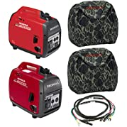 Honda EU2000i Generator, EU2000iC Companion Generator, Cord, (2) Camo Covers