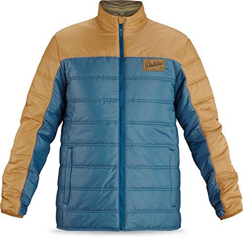 Dakine Men's Curley Jacket, Moroccan Blue / Bronze, Small (Bronze Mens Jacket)