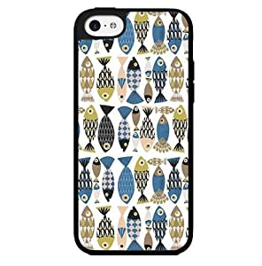 Colorful Fish Pattern Hard Snap on Phone Case (iPhone 5c)
