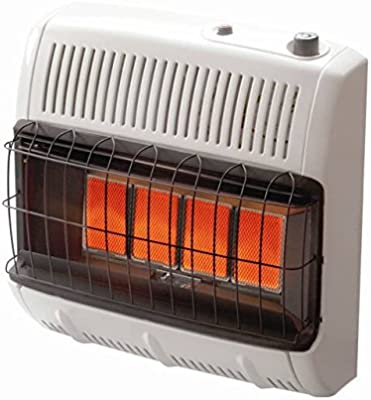 Mr Heater HeatStar 20,000 BTU NAT NG Vent Free Blue Flame Heater W//Blower T-stat
