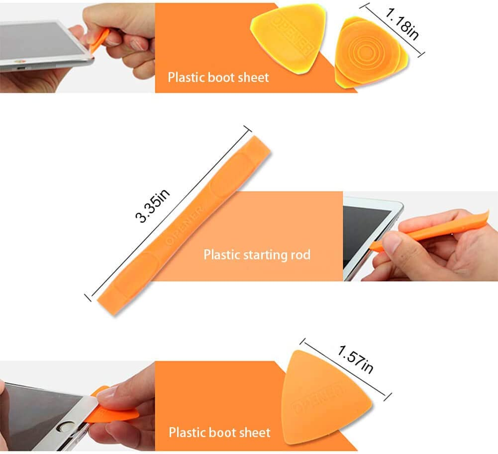 Pad iMac Screen Removal Tool for iPhone iPad Tablet Laptop Phone-Screen Repair Suction-Cup Puller Tool : Extra-Large Suction Cup Opening Pilers for Mac iOpener Repair Tool Kit: Phone Opener