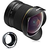 Opteka 6.5mm f/3.5 HD Aspherical Fisheye Lens for Sony E-Mount a6500, a6300, a6000, a5100, a5000, NEX-7, NEX-6, 5T, 5N, 5R, 3N Digital Mirrorless Cameras