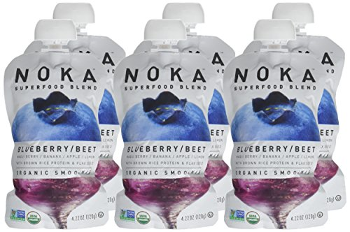 NOKA-Superfood-Blend-Organic-Fruit-Veggie-Smoothie-Squeeze-Pack-Blueberry-Beet-42-Ounces-Pack-of-6-pouches