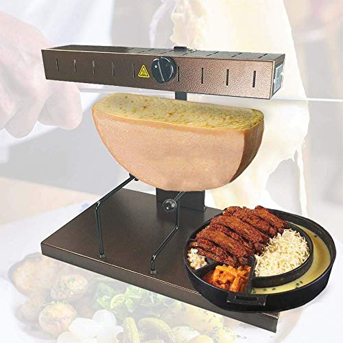 Zz Pro Raclette Cheese Melter Commercial Cheese Machine Popular Swiss Dish Warmer Demi 650 Watt Quick heating