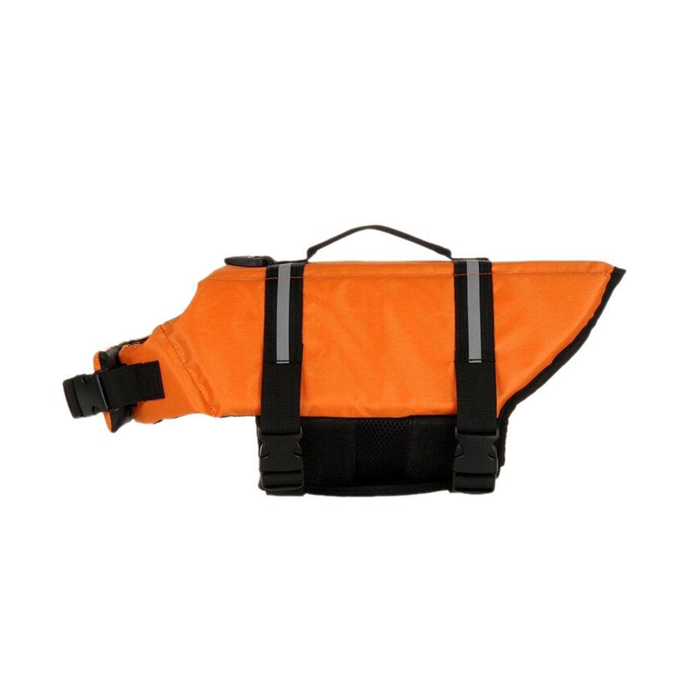 GOGO Doggy Life Jacket, Dog Safety Vest-Orange-XXL