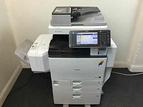 Ricoh Copier Fax Machines (Ricoh Aficio MP C3002 Copier Printer Scanner LCT Fax LOW 131k total page count)