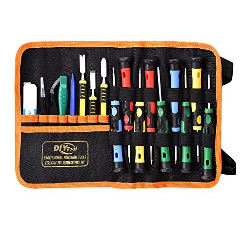 Repair Tools Kit Precision Screwdriver Magnetic Set for Phones/iphone, Computers/PC,Tablets/Pads/iPad Pro,Watch,and More Small Household Appliances Electronic Devices Pry Open DIY Tool Kits Set by GANGZHIBAO