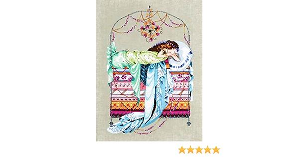Sleeping Princess by Mirabilia MD-123 cross stitch pattern