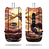 DaVinci Ascent Vaporizer Vape E-Cig Mod Box Vinyl DECAL STICKER Skin Wrap / Flying Angels Fighting Above the Clouds at Sunset Printed Design