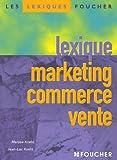Lexique marketing commerce vente