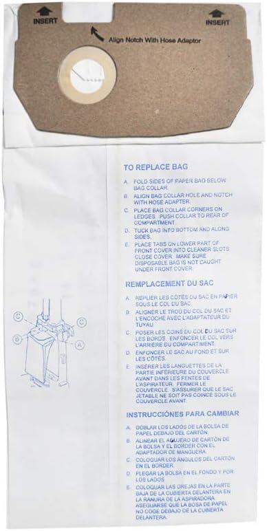 Eureka Style AA Paper Vacuum Bags Bulk 100CS
