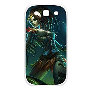 Zyra-003 League of Legends LoL case cover Ipod Touch 5 Plastic White
