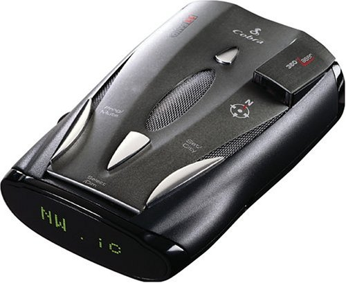Cobra XRS-9700 11-Band Radar/Laser Detector with Intellishield and Voice Alert