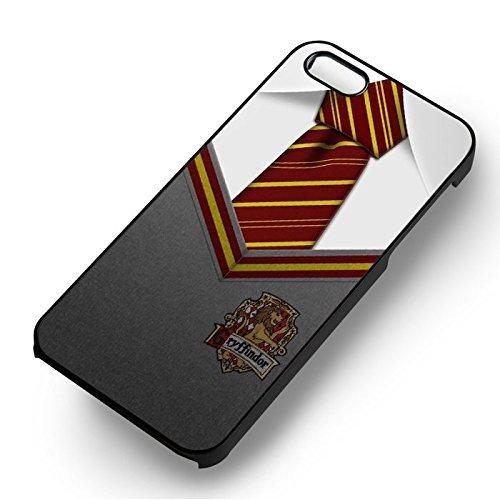 The Gryffindor Hogwarts Uniform pour Coque Iphone 6 et Coque Iphone 6s Case (Noir Boîtier en plastique dur) V6B5BV