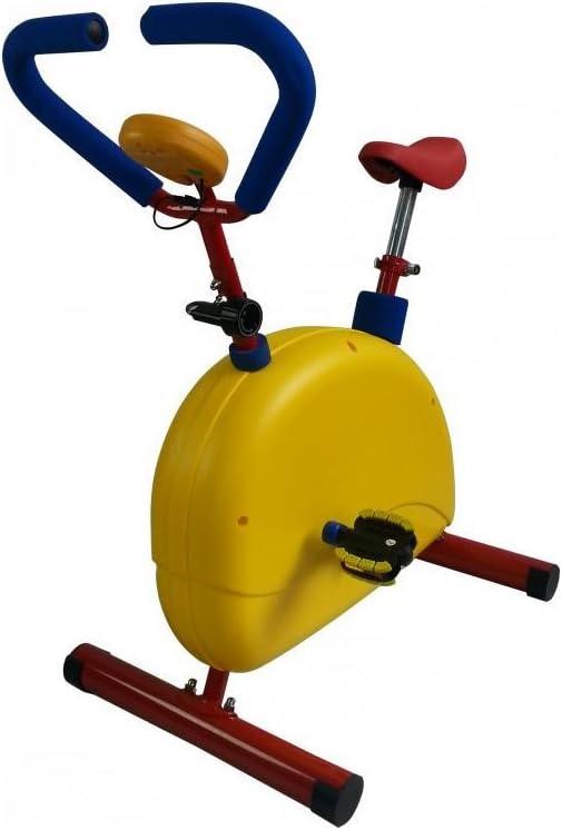 Bicicleta estática con ergómetro para niños