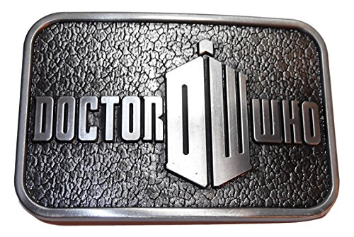 Doctor Who DW Logo Pewter Finish BELT BUCKLE (Dr Who Costume Ideas)
