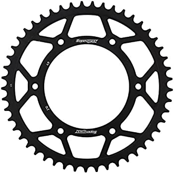 Amazon Com Supersprox Rfe 210 49 Blk Rear Steel Sprocket Black For