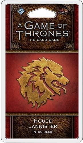 Fantasy Flight Games FFGGT38 House Lannister Intro Deck: Juego de Tronos, Multicolor: Amazon.es: Juguetes y juegos