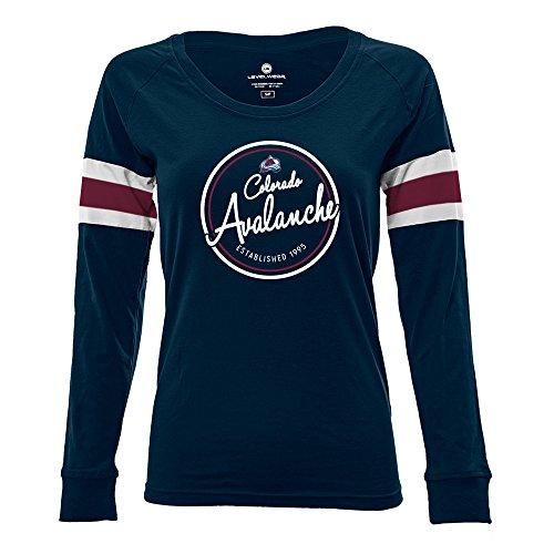 Levelwear LEY9R NHL Womens Finish Line Tailgate Long Sleeve V-Neck Tee – DiZiSports Store