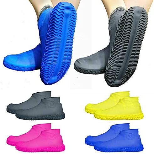 YueHao Hot Anti-Rutsch Wiederverwendbare Latex Outdoor Sport /Überschuhe Mountain Bike Wasserdicht Radfahren Fahrrad Regen Boot /Überschuhe Schuhe Regenbekleidung Schuhe Schutz