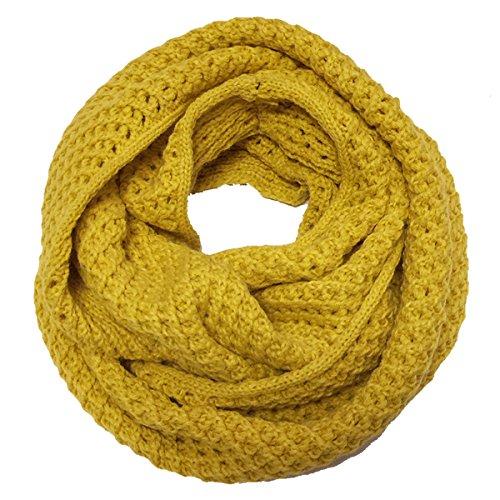 Wrapables Soft Winter Warm Scarf, Saffron (Soft Knit Scarf)