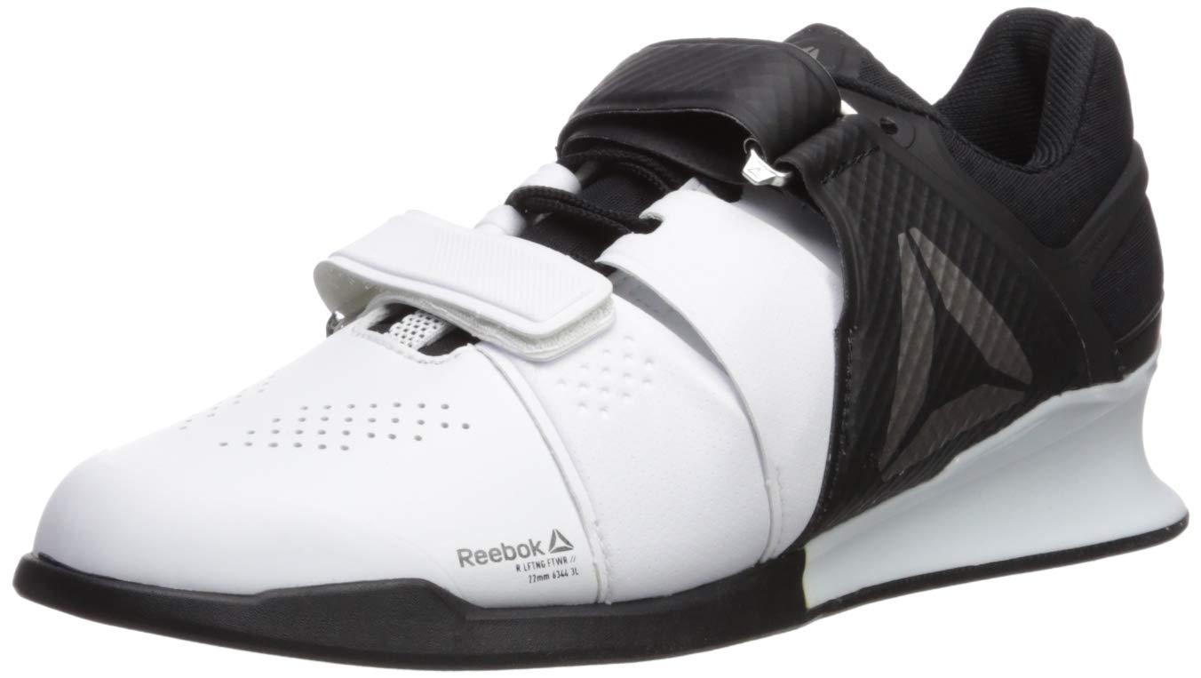 Reebok Men's Legacylifter Cross Trainer,white/black/pewter,10.5 M US by Reebok
