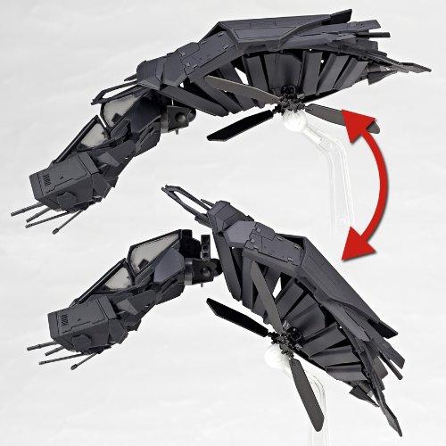 Amazon.com: Kaiyodo Sci-Fi Revoltech #050: The Bat Vehicle: Toys & Games