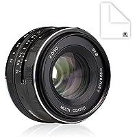 Meike MK-FX-50-2.0 50mm f 2.0 Large Aperture Manual Focus lens APS-C For Fujifilm Mirrroless cameras Benefits Review Image
